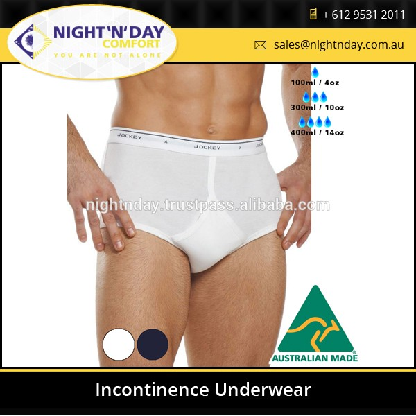 Very comfortable for mens incontinence underwear at wholesale price from Australia