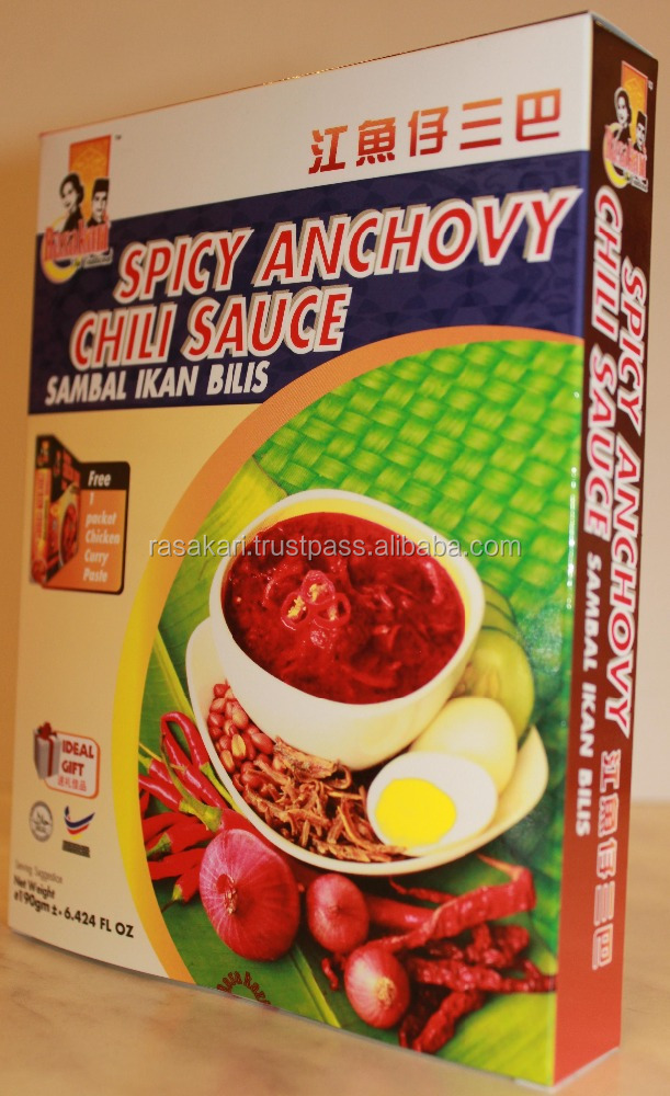 Spicy Anchovy Chili Sauce