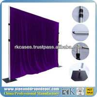 aluminum backdrop stand pipe drape trade show display booth