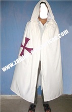 Best quality masonic regalia knight templar knight malata tunic and mantle
