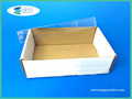 Two Pieces Stationery Box with Plastic Clear Lid