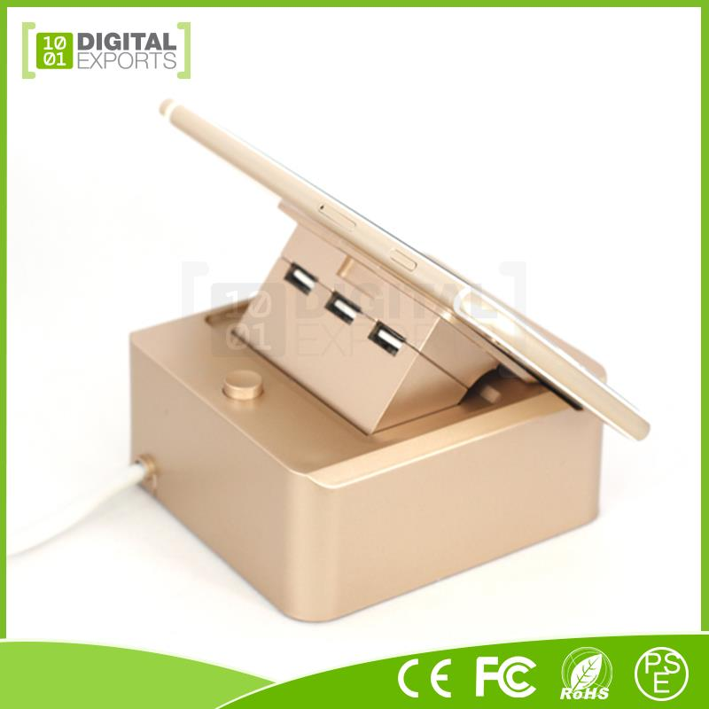 Factory supplied multi phone charging station, mobile phone accessory holder, phone charging pad