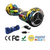 Self Balancing Scooter Hoverboard (EU warehouse ), CE Certificate, Graffiti Yellow, 6,5'' wheel, bluetooth, bag, remote