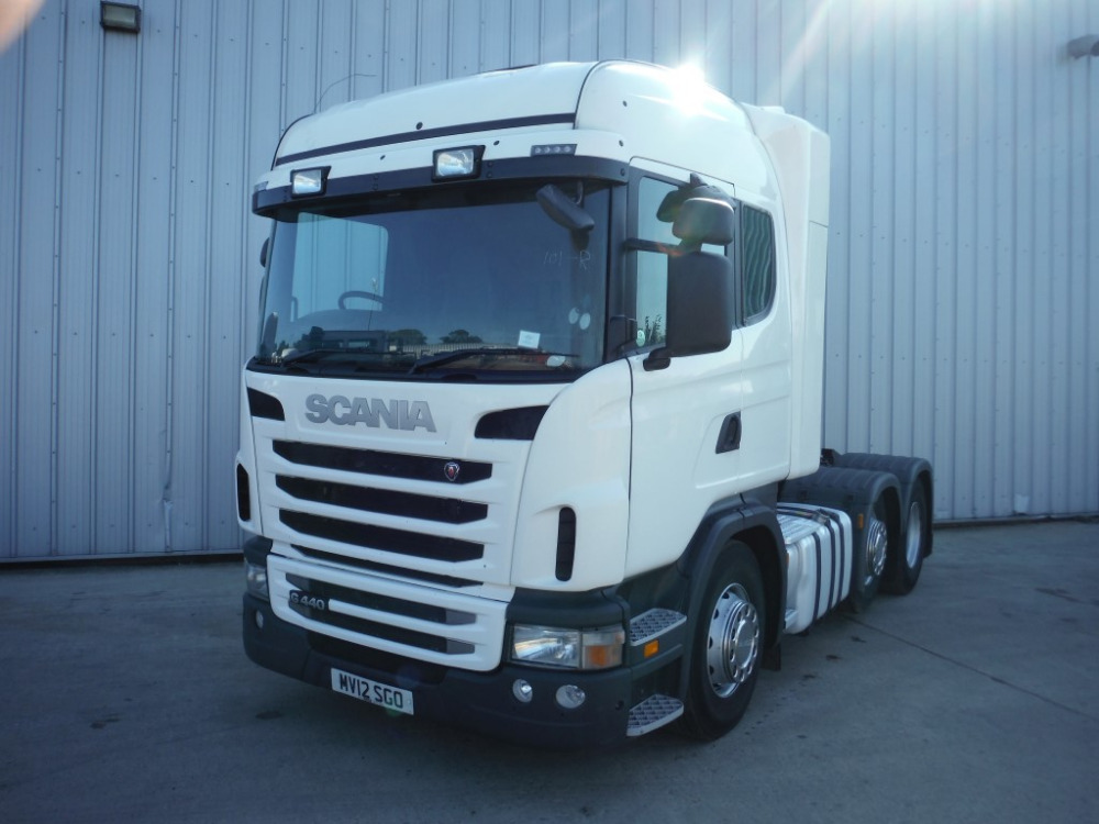 Used Scania G 440 HL 6x2/4 E5 Right hand drive (236058)