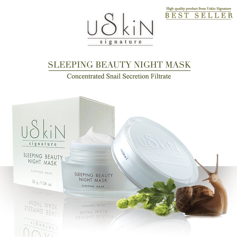 Top Quality Facial Skin Sleeping Night Mask Snail secretion Filtrate extract moisturising Cream