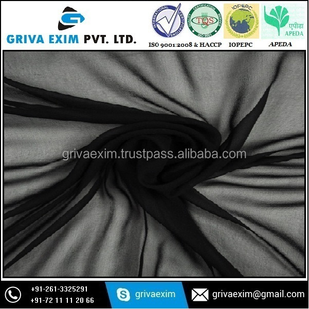 Polyester Chiffon Fabrics for Bulk Quantity Buyer