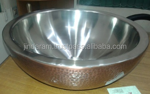 Copper Wash Basin