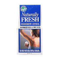 Crystal Deodorant, BOXED, 3 OZ by Naturally Fresh