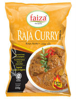 Raja Curry Powder, halal curry powder, halal malaysia, indian curry, arab curry, malay curry, hot and spicy.