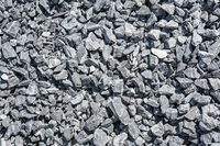 Construction aggregates/grey-black chip stone