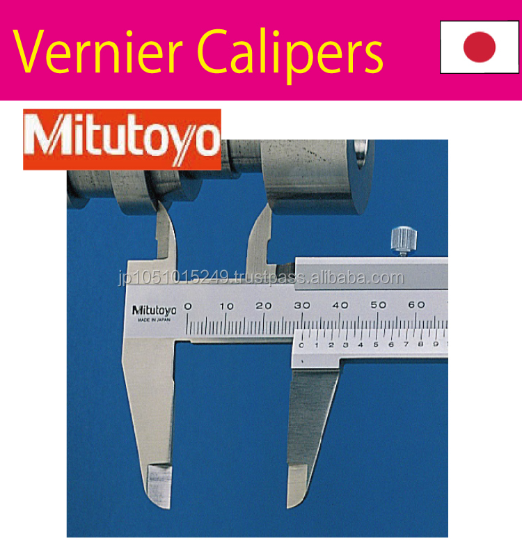 Superior Performance and Longer Life vernier caliper Measuring tools with multiple functions made in Japan