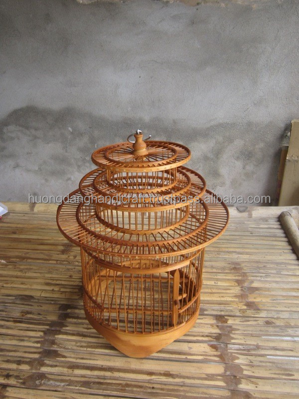 Custom Pet House/ Bird Cages - Bamboo Bird Cages