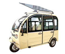 BSC Electric Three Wheelers / Electric Rickshaw with solar panel