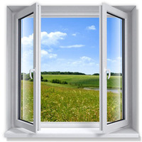 Indian By Window Supplier Polywood White Maintenance Free Openable UPVC Windows