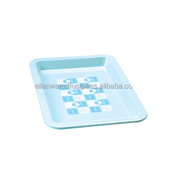 Cheap Plastic Food Serving Light Tray E-148/S