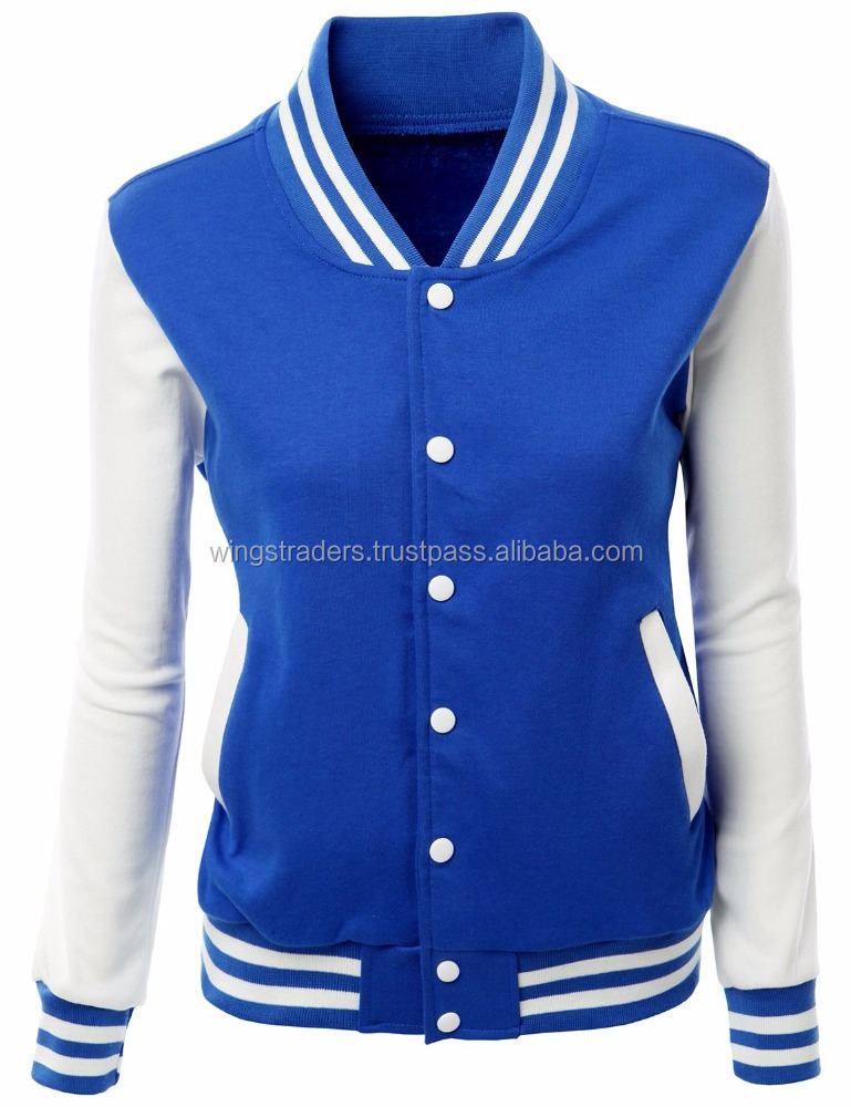 Girls Varsity Baseball Jacket