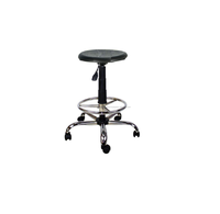 Polypropylen Laboratory Chair , Chromed Legs Medical Chair , OEM Stool , Doctor Stool
