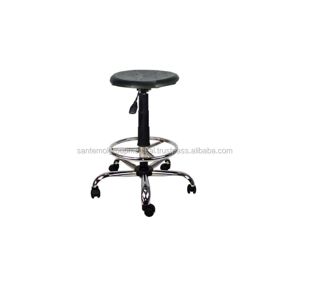 Polypropylen Laboratory Medical Chair , OEM Doctor Stool