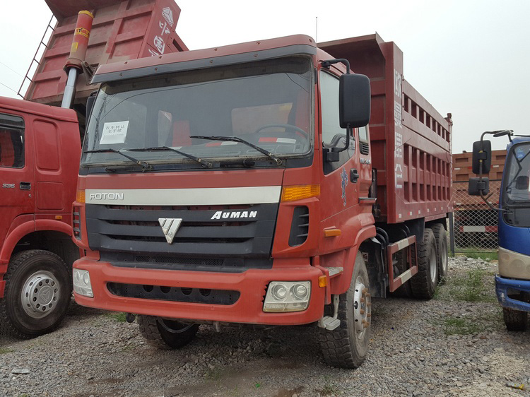 Low price used FOTON Tipper for sale