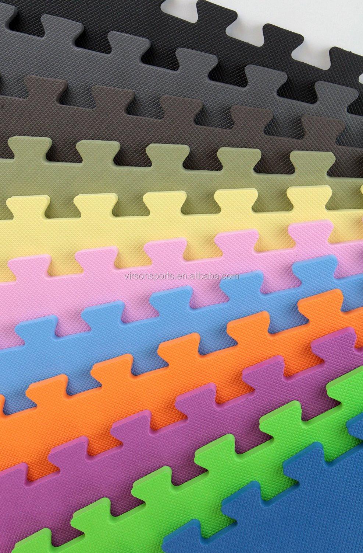 Virson T Pattern Interlocking Foam Taekwondo Tatami Mat