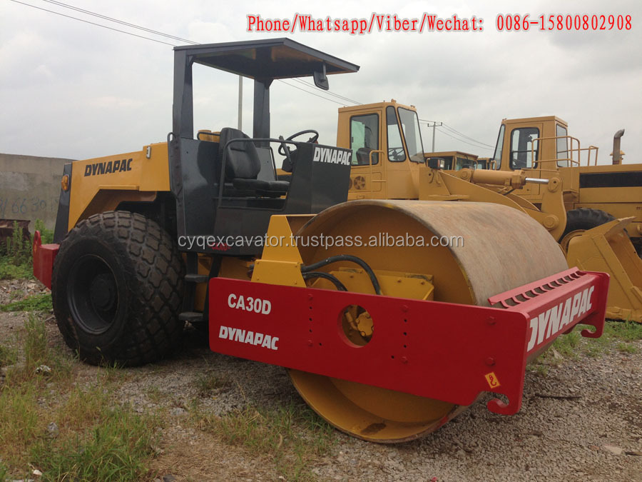 Used Vibratory Roller Dynapac Ca30 Road Roller, Used Compactor