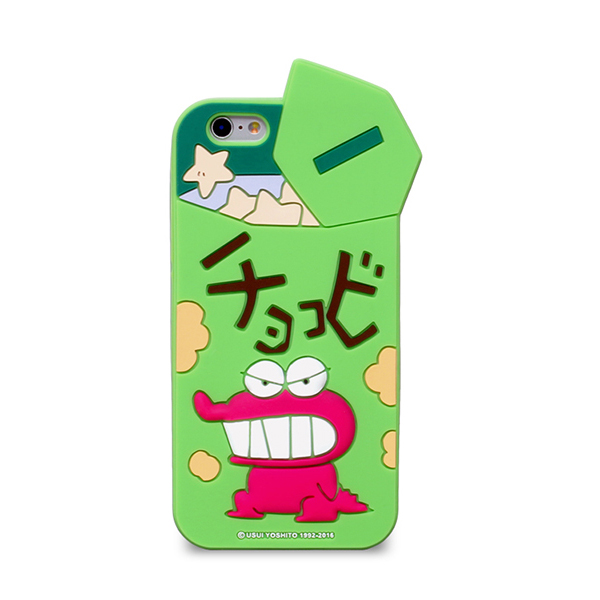 01312 For iPhone 6/6S/6 Plus/6S Plus/Galaxy S7/S6/Note5_Crayon Chocobi Silicon_Smart Cellular Mobile Phone Case Cover Casing