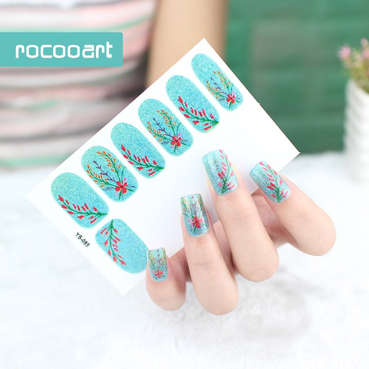 New Arrival 2017 Auto-adhesive Nail Art Stickers Decor Full Decal ...