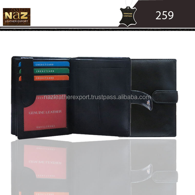 long wallet for men, wallet genuine leather