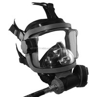 OTS Guardian Full Face Mask Package with Buddy Phone, Black