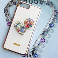 Romantic Heart Mobile Phone Case Jewelry