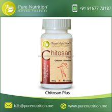 High Quality Pure Nutrition Chitosan Plus (Fat Blocker) for Lowers Cholesterol