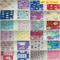 "20*10 Cotton Flannel Printed Woven 43/44""/Ready Fabric/Fresh Textile"
