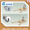 Japanese safety and high security cylinder lock for coin washing machine at laundry. Good price for whole sale market.