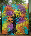 Tree of Life Bohemian wall tapestries Ombre Hippie Indian Mandala Tapestry