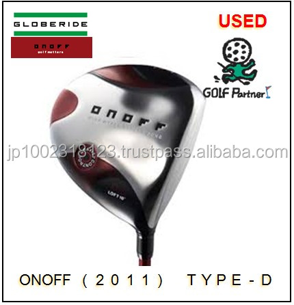 popular and Hot-selling golf cart tire tubes and Used Driver DAIWA(GLOBERIDE) ONOFF(2011) Type-D with good condition