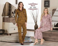 beautiful ladies 100 cotton sleepwear for winter