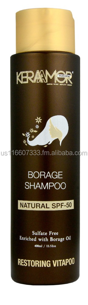 KeraAmor Nourishing Shampoo Enriched with Borage oil