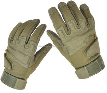 Anti Slip Paintball Safety Gloves Good Abrasion Outdoor Full Finger Climbing Potective Gloves