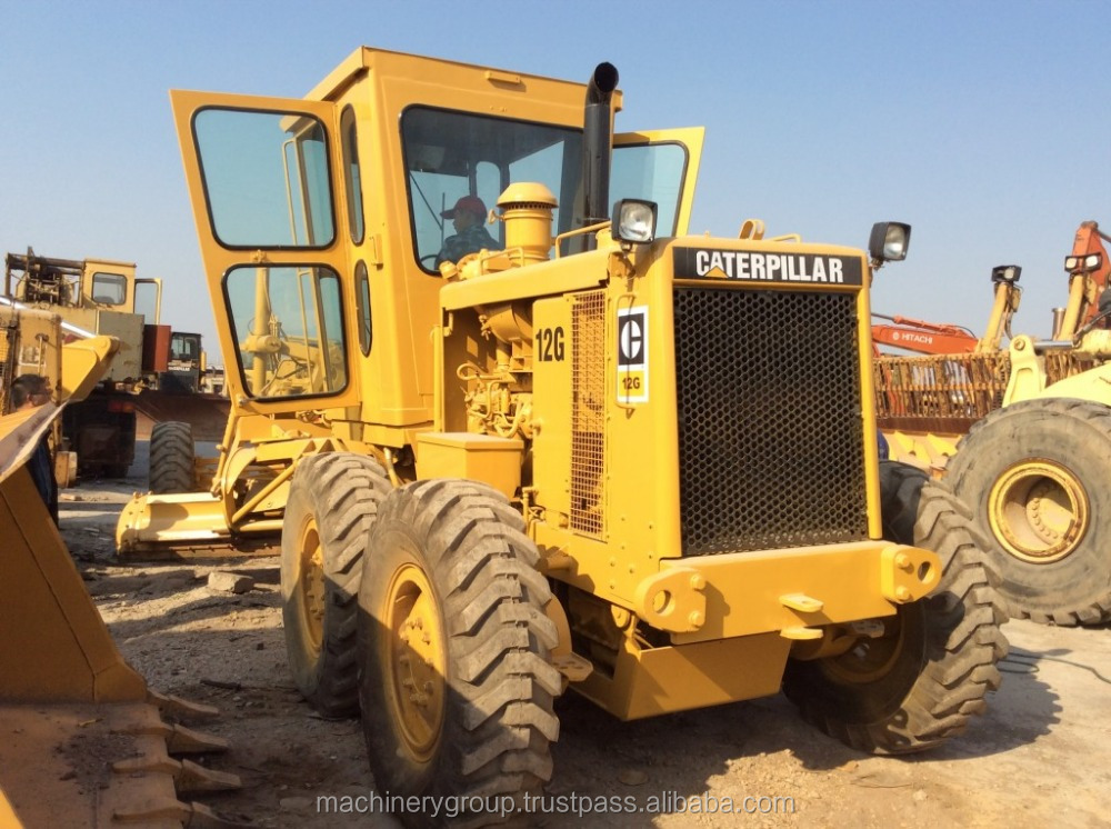Cheap Used Grader CAT 12G for Sale, Used Cat 12G Motor Grader