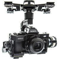 DJI Spreading Wings S1000 Octocopter with Zenmuse Z15-A7, A2, Transmitter Batteries, and Case Kit
