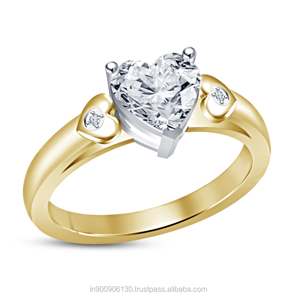 CAD / CAM models Jewelry of Engagement Ring