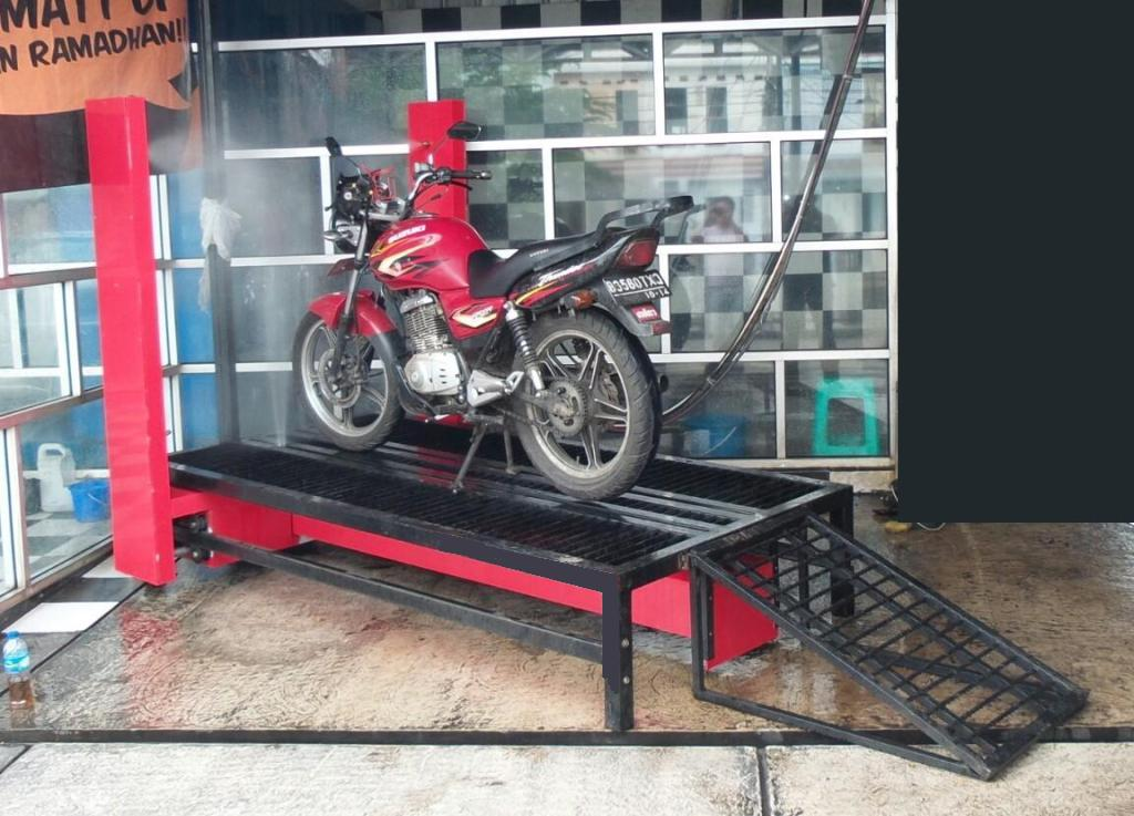 LIGHT-HEAVY, AUTOMATIC MOTORCYCLE WASHING- PORTABLE STYLE