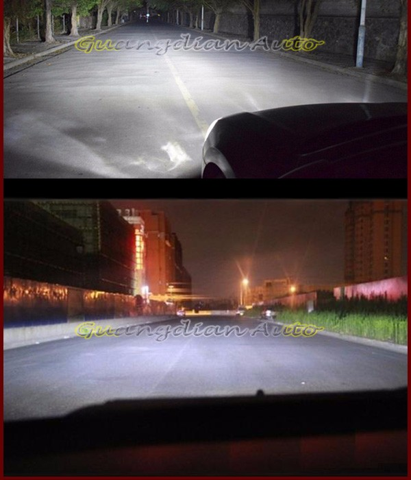 Hot sell Guangdian AUTO parts C6F-H4 36W high power h4 led headlight Phips chip Very condenser LED headlights