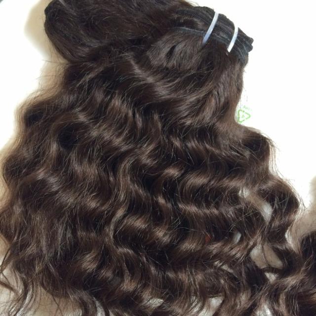 unprocessed brazilian hair, peruvian hair, malaysian hair wavy human hair weave