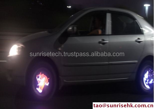 Programmable Car Wheel Light 40LED 50 Pictures High Quality