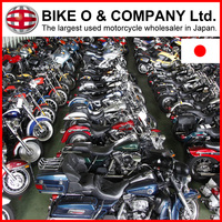 Various types Rich stock Japanese used motorcycles for importers