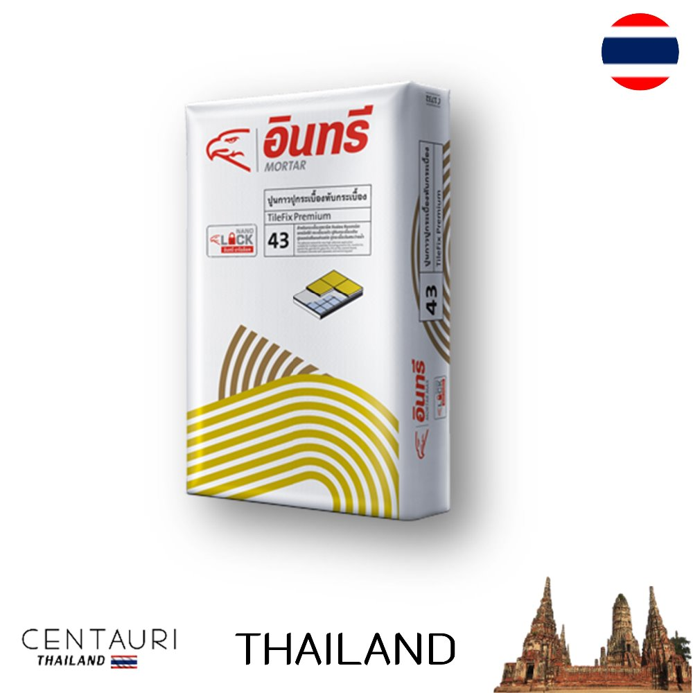 great 25 kg bag early Thai cement tile adhesive and 25 kg bag new cement tile adhesive from Thailand