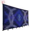 4m x 6m led stage video wall curtain ,soft led wall