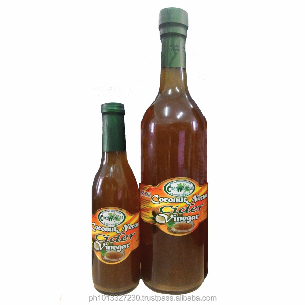 Bulk Packaging COCONUT CIDER VINEGAR - Certified Organic bu USDA-NOP & EU