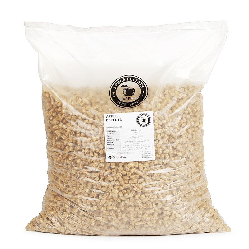 Apple Pellets 10kg Bag